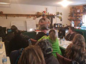 instructor teaching CPL class in Hillsdale Jackson Michigan