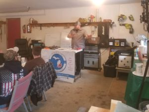 instructor teaching CPL class in Jackson Lenawee Hillsdale Michigan